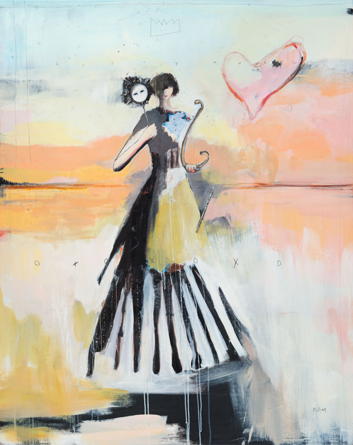 dancers painting