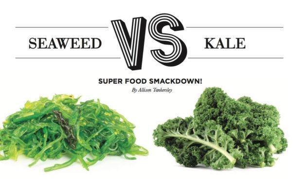 Seaweed vs Kale