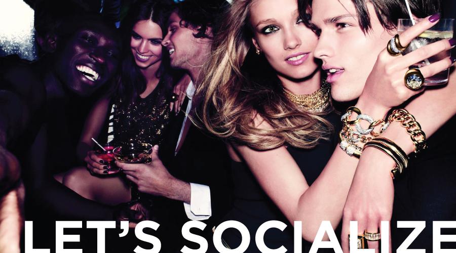 Orlando Style Magazine advertising - socialize