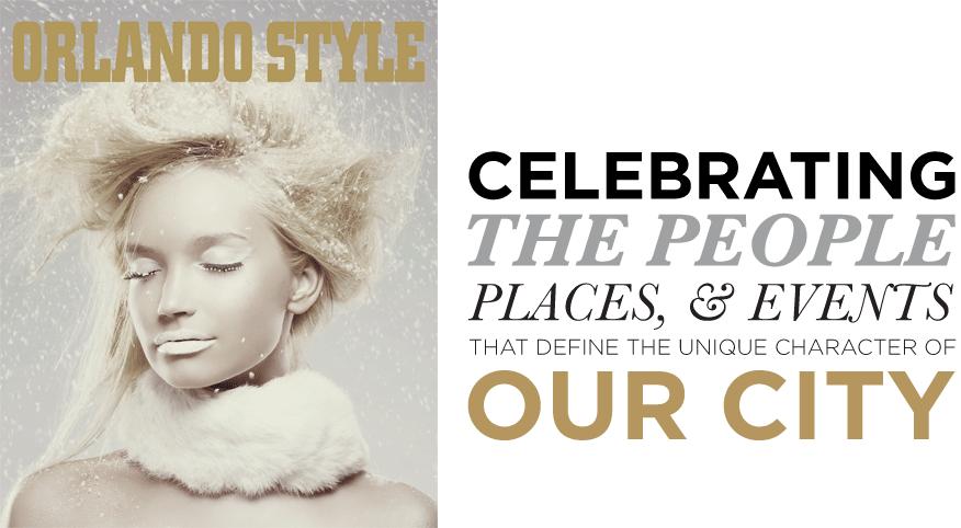 Orlando Style Magazine advertising intro