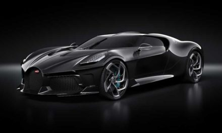 Bugatti La Voiture Noire – A One-Off Anniversary Vehicle