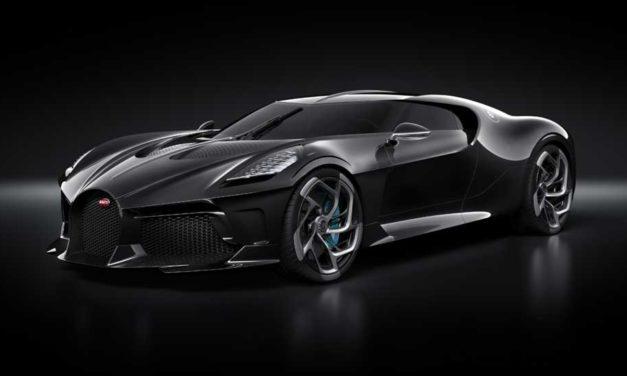 Bugatti La Voiture Noire – A One-Off Anniversary Vehicle
